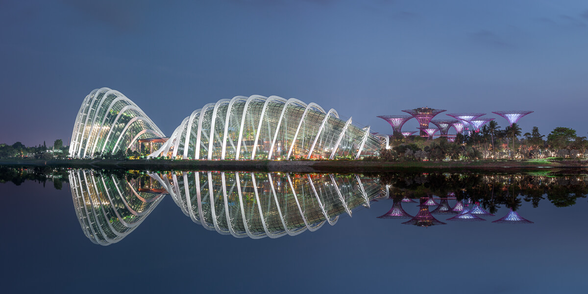 hanging gardens by the bay singapore fine art photography yaopey
