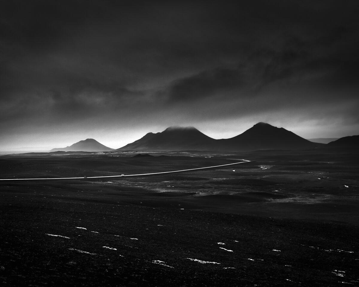 black and white iceland landscape fine art photographs yaopey
