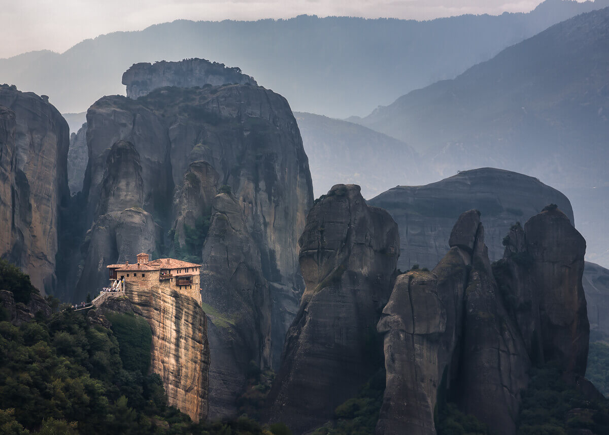 meteora orthodox monastery greece by yaopey fine art photographs