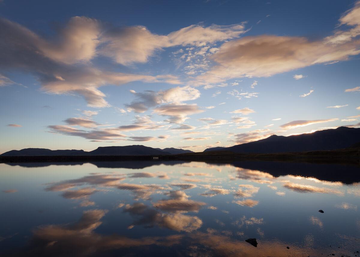 infinity sunrise reflection at kirkjufell iceland fine art photographs yaopey